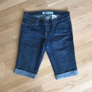 Gap Bermuda Skinny Denim Shorts